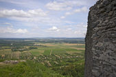 Ruin of Somlo castle — Stock Photo