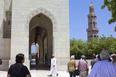 Gran mezquita de moscatel — Foto de Stock