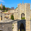 Besalu village (Catalonia) — Stock Photo