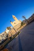 Iglesia de sant bertomeu y santa tecla en sitges — Foto de Stock
