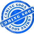 Stock Photo: Coming soon stamp