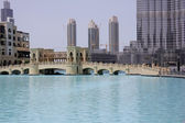 Dubai small bridge — Stock Photo