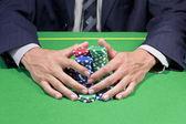 Gagner poker — Photo