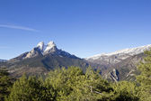 El Pedraforca and Cadi mountain range — Stock Photo
