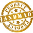 Handmade product stamp — Stock Photo