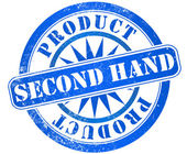 Second hand stamp — Stock Photo