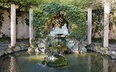 Fountain Horta Labyrinth — Stock Photo