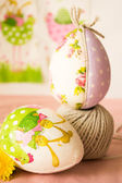 Hand-made Easter — Stock Photo