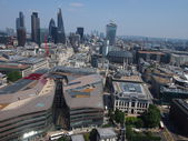 View of London from the dome of St Paul's Cathedral — Stock Photo
