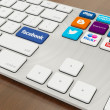 Social Media Keyboard — Stock Photo #27312811