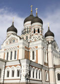 ORTHODOX CHURCH IN TALLINN — Stock Photo