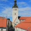 Old Tallinn. Niguliste Church — Stock Photo