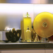 Stock Photo: Oils in kitchen