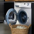 Interior of luxury laundry room poi — Foto Stock