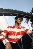 Bike man — Stok fotoğraf
