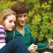 Romantic young couple relaxing — Stock Photo #47423679