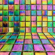Abstract colorful rainbow background — Stock Photo