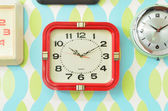 Wall clocks — Stock fotografie