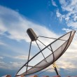 Satellite dish with blue sky — Stock Photo #27690661