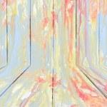 Creative colorful wood background — Stock Photo