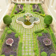 Stock Photo: Beautiful formal garden