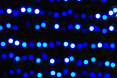 Defocused abstract blue christmas background — Stock Photo