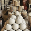 Stock Photo: Earthenware industry, Pottery industry