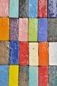 Colorful Brick — Stock Photo