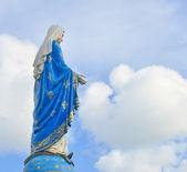 άγαλμα της παναγίας — Φωτογραφία Αρχείου
