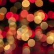 Boke and defocused of christmas tree — Foto Stock