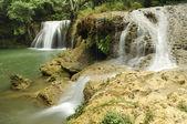 Beautiful deep waterfall — Stock Photo