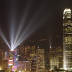 Symphony of light, Hongkong — Stock Photo #28250505