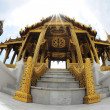 Gold Pavilion in the inner Grand Palace — Stock Photo