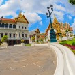 The Grand Palace at The Emerald Buddha temple — Stock Photo