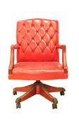Ročník židle izolované — Stock fotografie