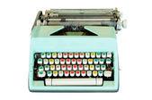 Vintage typewriter isolated — Stock Photo