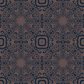Vintage seamless pattern — Stock Vector