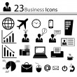 Business icons (vector) — Stockvektor