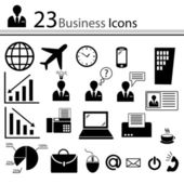 Business icons (vector) — Stock Vector