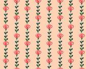 Akvarel květinový vzor — Stock vektor