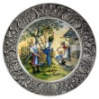 Stok fotoğraf: Decorative wall plate Autumn