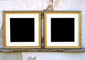 Blank picture frames — Stock Photo