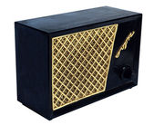 Antique radio speaker — Stock Photo