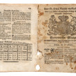 Old British Trade Newspaper dated 1773 — Stock Photo