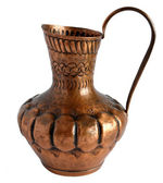 Old Copper pitcher — Stock Photo