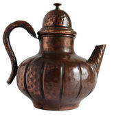 Old Copper Teapot — Stock Photo