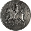 Bas-relief Knight, Death and the Devil — Stock Photo #35008633