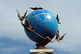 Statue Globe — Stock Photo