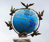Statue Globe — Foto de Stock