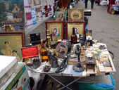 Flea market — Stockfoto